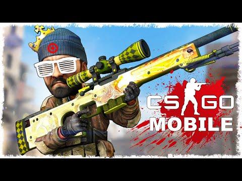 Critical Strike CS: Counter Terrorist Online FPS ОБЗОР ПРОХОЖДЕНИЕ ПЕРВЫЙ ВЗГЛЯД CSGO MOBILE