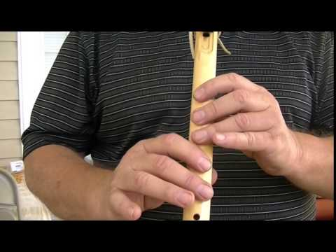 Rocky Top, for a 6 Hole Flute, How to Play on the Native American Flute