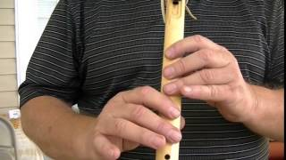 """Rocky Top,"" for a 6 Hole Flute, How to Play on the Native American Flute"