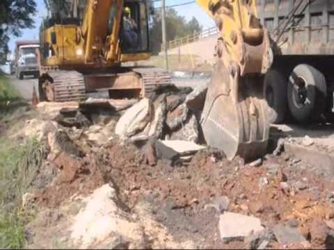 Video on Big Equipment on Pennsylvania Roads