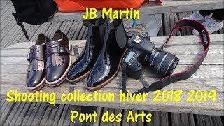 JB Martin collection Hiver 2018 2019 Shooting Pont des Arts 17 juillet 2018