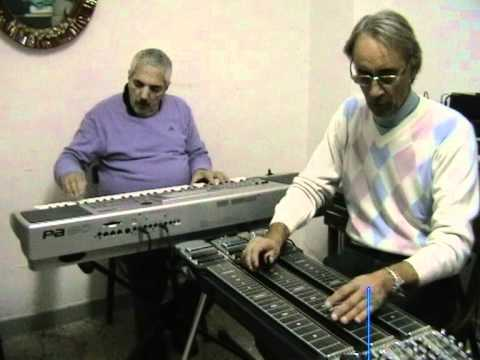 Steel guitar Italian - Paky & Savier - Fly me to the moon