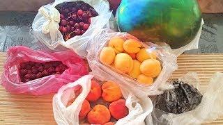 Русское застолье в гостях. Цены на фрукты и легкий шок. Уезжаю. Измир, Турция.