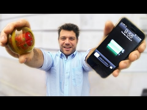 Ingenious Device Charge Smartphone • Do it Yourself TUTORIAL