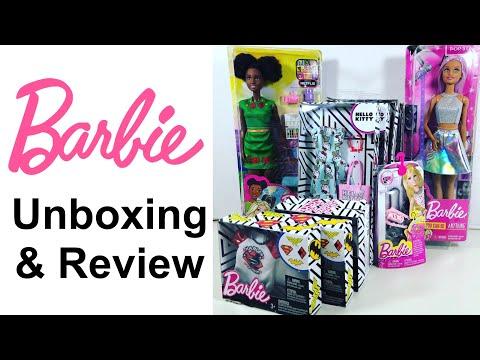 Barbie Haul Review | Barbie Pop Star | Nikki Doll | Fashion Packs