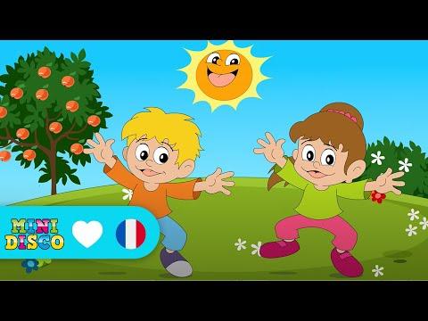 Chansons pour enfants NON-STOP (15 Clips - 38 minutes) - DD Company