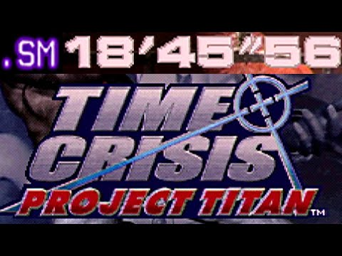 "Time Crisis Project Titan - 18'45""56 - 1 Credit Clear"
