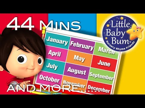 Little Baby Bum | Months of The Year Song | Nursery Rhymes for Babies | Songs for Kids