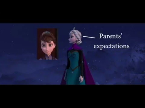 "Symbolism and Visual Metaphor in ""Let it Go"" from Disney's Frozen"
