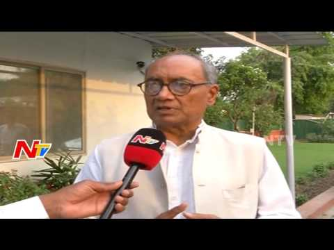 Digvijay Singh Face to Face over his Tweets on Telangana Police || NTV Exclusive