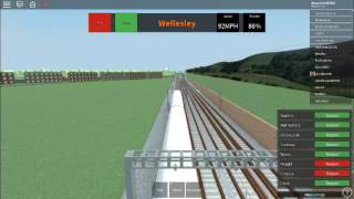 ROBLOX| Happy National Train Day!| Express to Wellesley| MTG