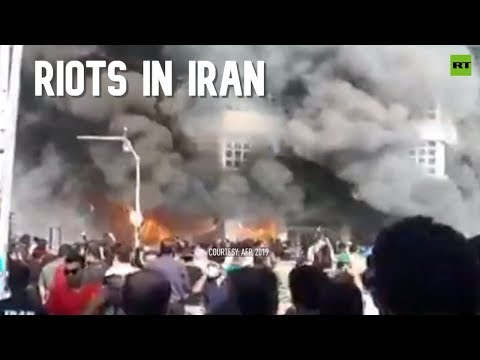 Riots across Iran as state pushes 50% petrol price increase