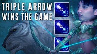 TRIPLE ARROW WINS THE GAME (SingSing Dota 2 Highlights #1450)