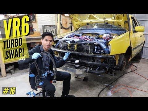 VLOG: MK3 VW VR6 Turbo Swap #16 | Working on that face
