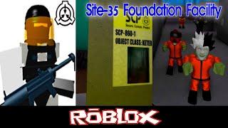 SCP Site-35 Foundation Facility V0.3.2 Teil 1 Von MiniToon [Roblox]