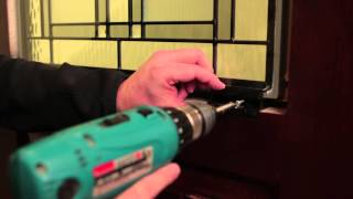 Signet Fiberglass Entry Door Plugless Trim Installation