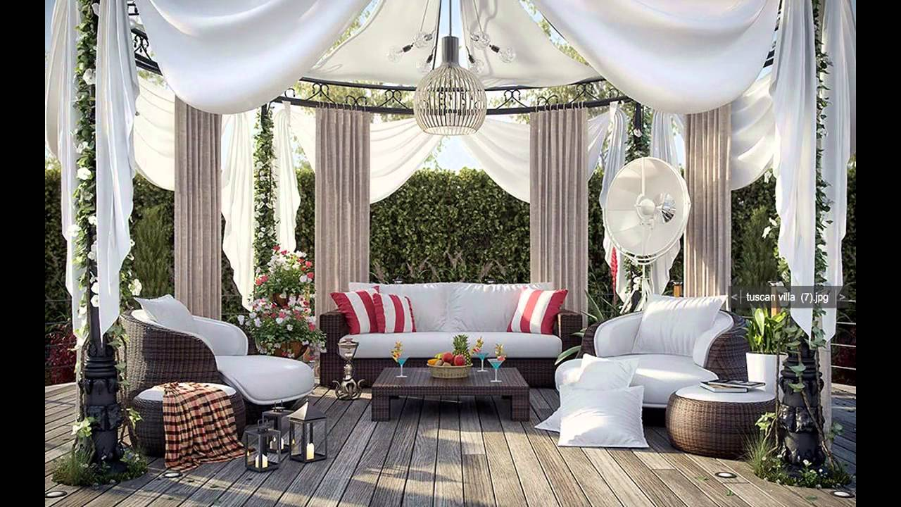 cool gazebo decorating ideas youtube - Gazebo Patio Ideas