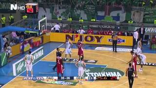 Panathinaikos - Olympiakos 2013-2014 Playoffs Final 1st game 22/05/2014 OAKA