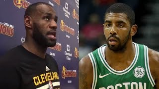 Lebron james reveals what the cavs will do for kyrie irving's return to cleveland