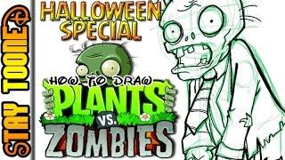 How To Draw Plants Vs Zombies Zombie STA