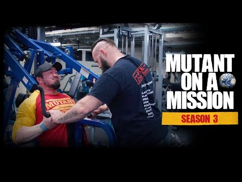 MUTANT ON A MISSION - IRON GYM, Lac La Biche, AB. World's best SMALL TOWN gym?! (Season 3)