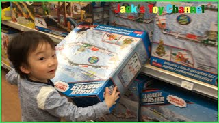 Jack Having A Toy Hunt In Toys R Us For Thomas Train Set And Paw Patrol Toys