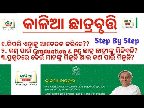 କାଳିଆ ଛାତ୍ରବୃତ୍ତି ଆବେଦନ କେମିତି କରିବେ// Why Graduation Student not Apply//Kalia Scholarship Apply