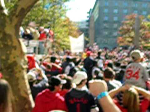 2004 Boston Red Sox World Series Parade