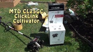 $60 MTD CL25GC ClickLink garden cultivator