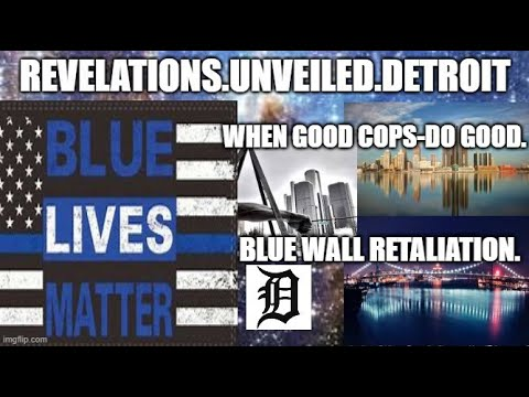 When GOOD COPS-Do GOOD.  BLUE LIVES RETALIATE.