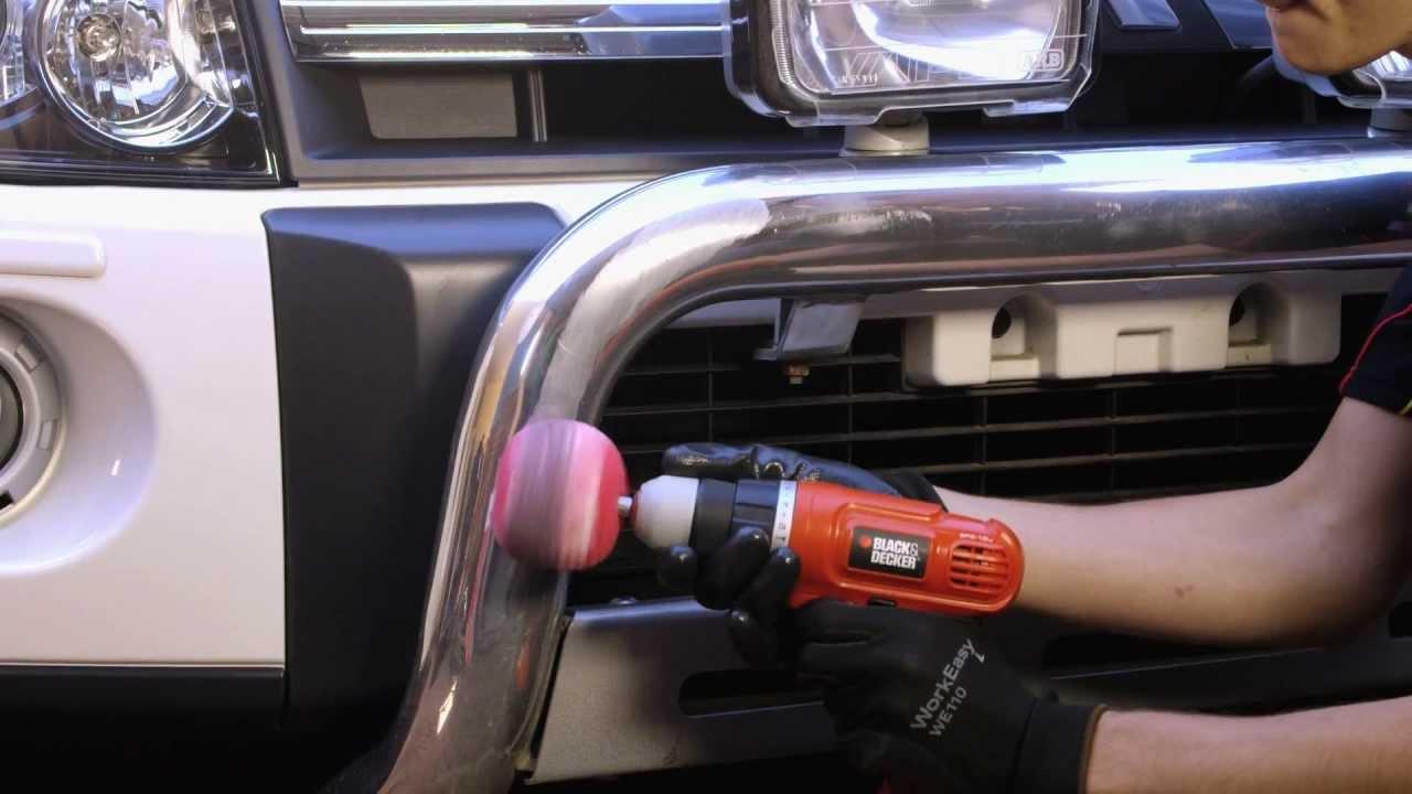 Polishing Metal or Aluminium // Supercheap Auto