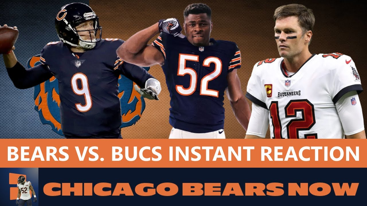 Chicago Bears are looking good  please keep it going until this ...