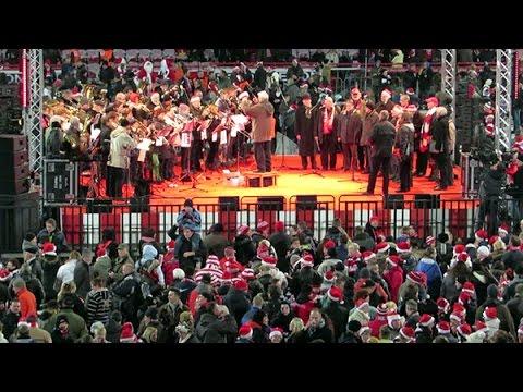 1.FC Union - Weihnachtssingen 2013 - Hymne
