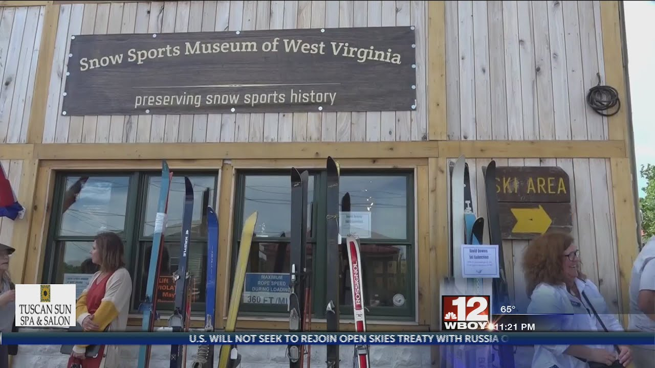 WV Snow Sports Museum Hosts Grand Opening Showcasing Pieces of History