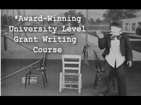 Grant Writing Training