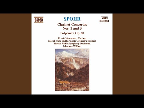 Musical Instruments & Gear Spohr Concerto Op57 No 2 Eb Clarinet Latest Technology Wind & Woodwinds