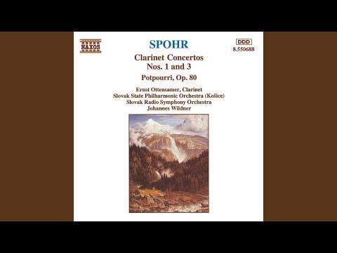 Clarinet Concerto No. 3 in F Minor, WoO 19: I. Allegro moderato