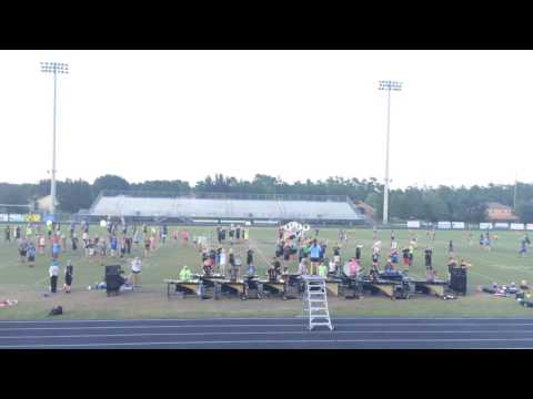 Hagerty High School Marching Band 9/23/16: TURN