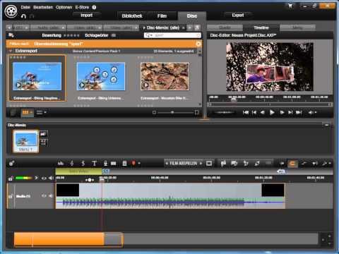 Intro Video in Avid studio und Pinnacle Studio