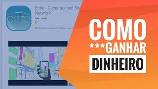 #001$: ENLTE A MELHOR FORMA DE GANHAR DINHEIRO NA INTERNET COM APENAS UM APLICATIVO