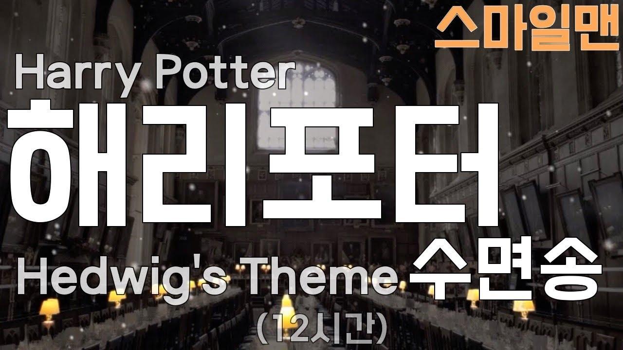 해리포터 수면송 '헤드위그의 테마'(12시간 밤잠용 / Harry Potter - Hedwig's Theme (12-hours) / ASMR - 스마일맨SmileMan
