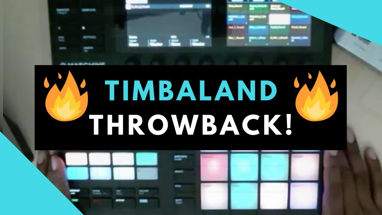 How To Make A Throwback Timbaland Beat! Maschine MK3 Sample Pack Review