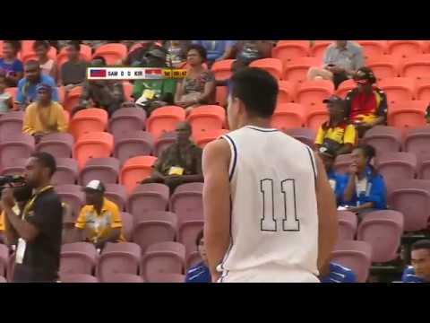 Pacific Games 2015  BASKETBALL  G1 KIRIBATI vs SAMOA
