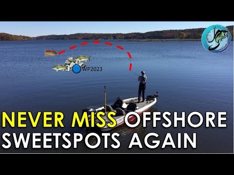 How To Hit Offshore Structure First Cast Every Time! | Offshore Bass Fishing Tips