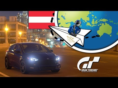 I'm Going to Austria!! GT Sport World Tour 2018 - Salzburg