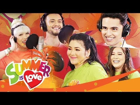 "ABS-CBN Summer Station ID 2019 ""Summer Is Love"" Recording Music Video"