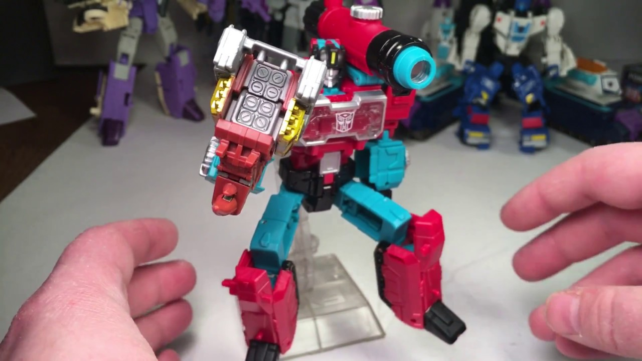Takara Tomy Transformers Legends LG-56 Perceptor /& Ramhorn Titans Return LG56