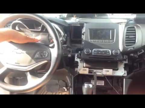 2014 Impala Dash Radio Breakdown