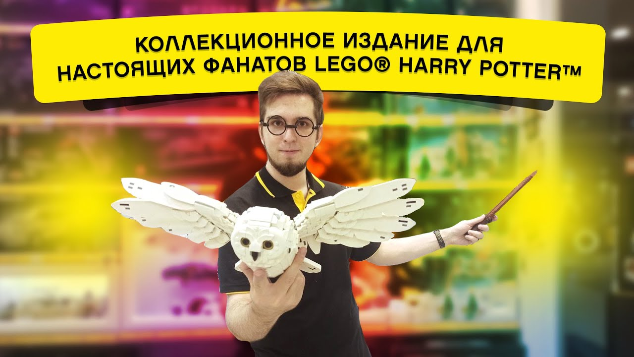 ЛЕГО Harry Potter 76391 — Символы Хогвартса: коллекционное издание!