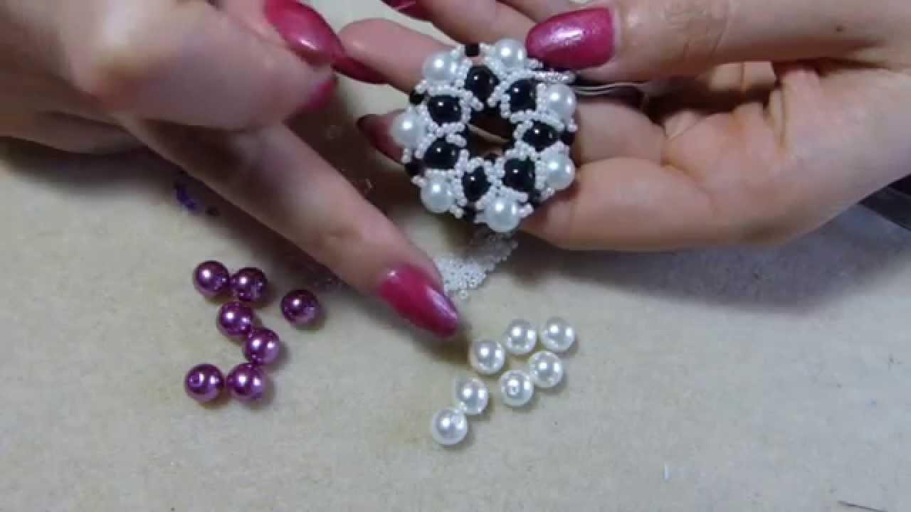 Eccezionale Diy tutorial ciondolo con perle e perline 1 come fare gioielli fai  QO97